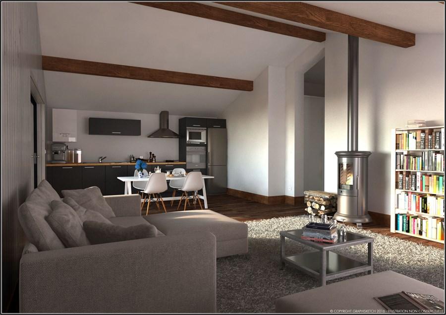 Vente appartement vendu sur plan 120 00m morillon immobilier haute savoie - Vendre un appartement occupe ...